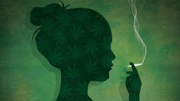 Женщины курящие коноплю можно ли курить марихуану в турции